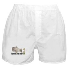 I Can Has Green Beer? Lolcat Boxer Shorts