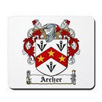Archer Family Crest Mousepad