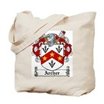 Archer Family Crest Tote Bag