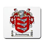Armstrong Coat of Arms Mousepad