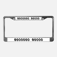 I wrote that. License Plate Frame