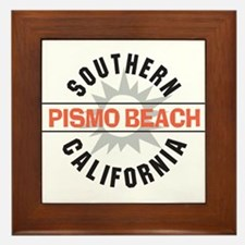 Pismo Beach California Framed Tile