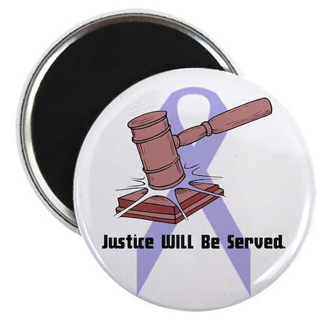 "Domestic Violence Justice 2.25"" Magnet (100 pack)"