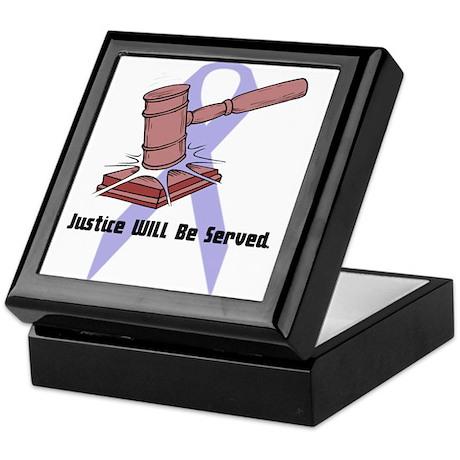 Domestic Violence Justice Keepsake Box