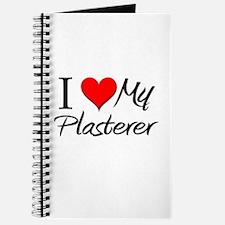 I Heart My Plasterer Journal