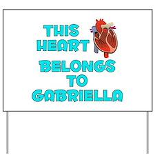 This Heart: Gabriella (B) Yard Sign
