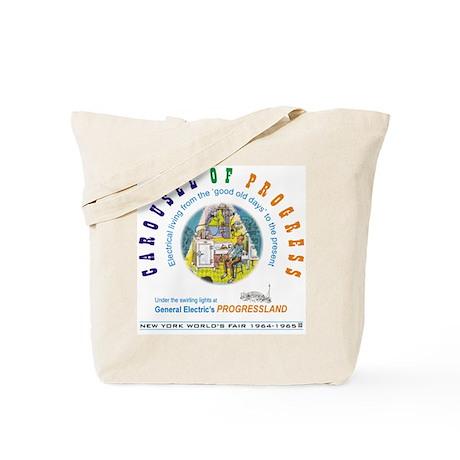 """Carousel of Progress"" Tote Bag"