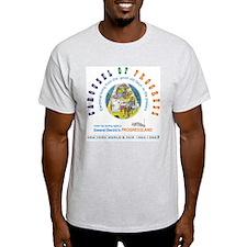 """Carousel of Progress"" Ash Grey T-Shirt"