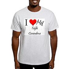 I Heart My Tajik Grandma T-Shirt