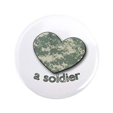 "Love a Soldier 3.5"" Button (100 pack)"