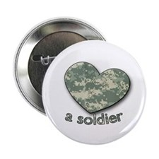 """Love a Soldier 2.25"""" Button (100 pack)"""