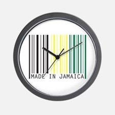 made in jamaica Wall Clock