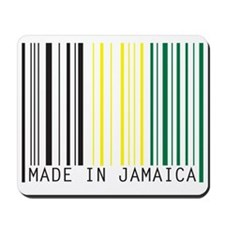 made in jamaica Mousepad