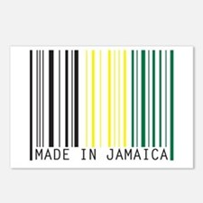 made in jamaica Postcards (Package of 8)