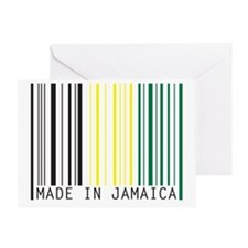 made in jamaica Greeting Card