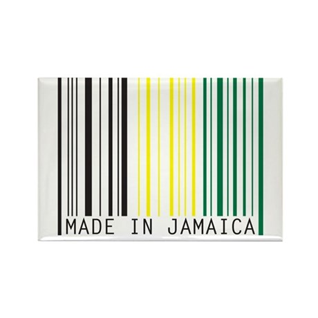 made in jamaica Rectangle Magnet (10 pack)