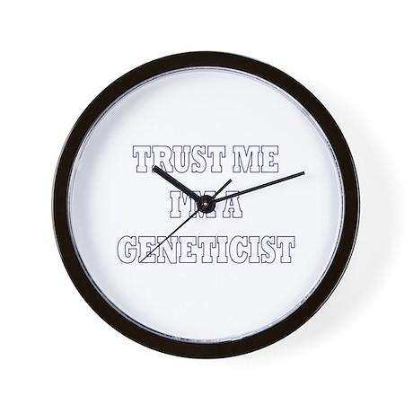 Trust Me I'm a Geneticist Wall Clock