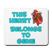 This Heart: Gene (B) Mousepad