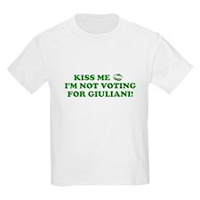 Kiss Me No Giuliani T-Shirt