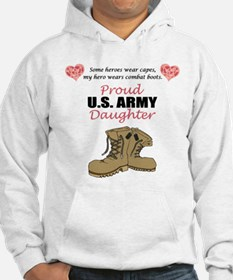 Proud US Army Daughter Hoodie