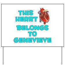 This Heart: Genevieve (B) Yard Sign