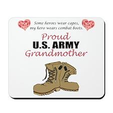 Proud US Army Grandmother Mousepad
