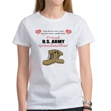 Proud US Army Grandmother Tee