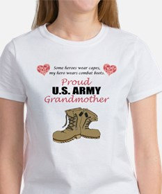 Proud US Army Grandmother Women's T-Shirt