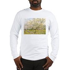 Van Gogh The White Orchard Long Sleeve T-Shirt