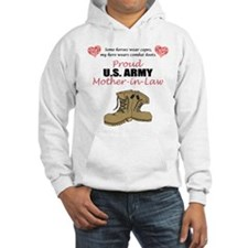 Proud US Army Mother-In-Law Hoodie