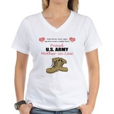 Proud US Army Mother-In-Law Shirt