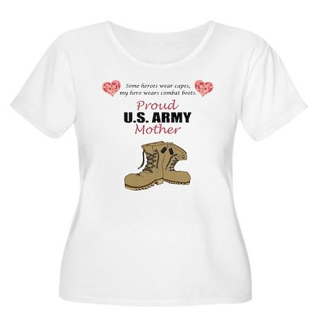 Proud US Army Mother Women's Plus Size Scoop Neck