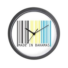 made in bahamas Wall Clock