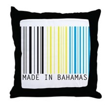 made in bahamas Throw Pillow