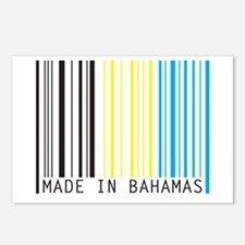 made in bahamas Postcards (Package of 8)