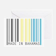 made in bahamas Greeting Card