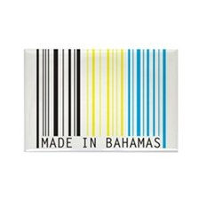 made in bahamas Rectangle Magnet