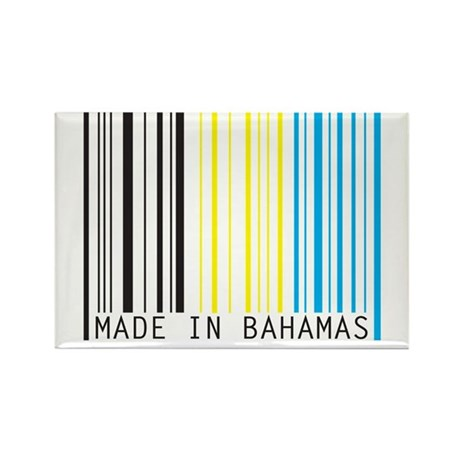 made in bahamas Rectangle Magnet (100 pack)