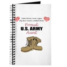 Proud US Army Aunt Journal