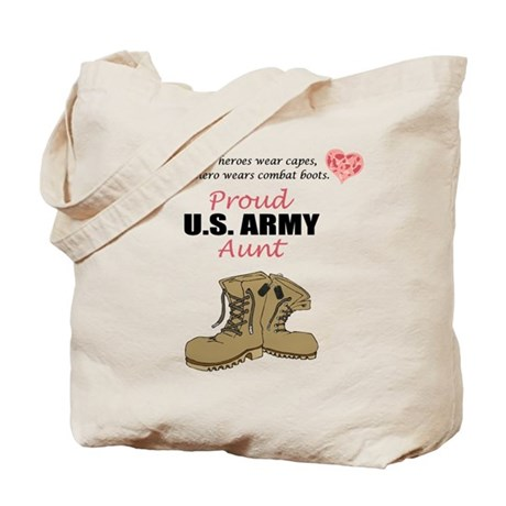 Proud US Army Aunt Tote Bag