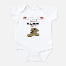 Proud US Army Aunt Infant Bodysuit