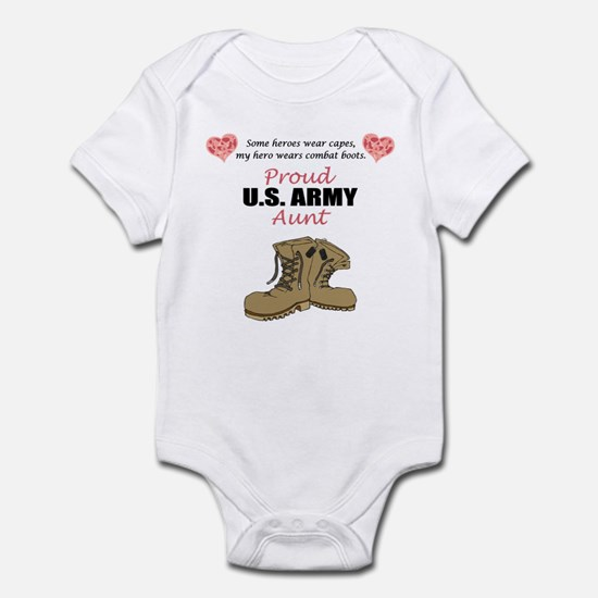 Proud US Army Aunt Infant Bodysuit