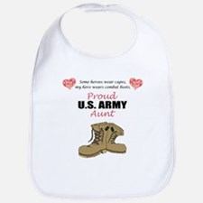 Proud US Army Aunt Bib