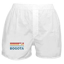 Retro Palm Tree Bogota Boxer Shorts