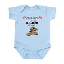 Proud US Army Cousin Infant Bodysuit