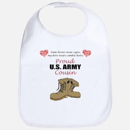Proud US Army Cousin Bib