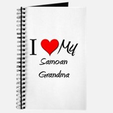 I Heart My Samoan Grandma Journal