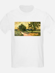 Van Gogh Castle of Auvers T-Shirt