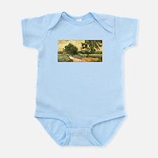 Van Gogh Castle of Auvers Infant Bodysuit