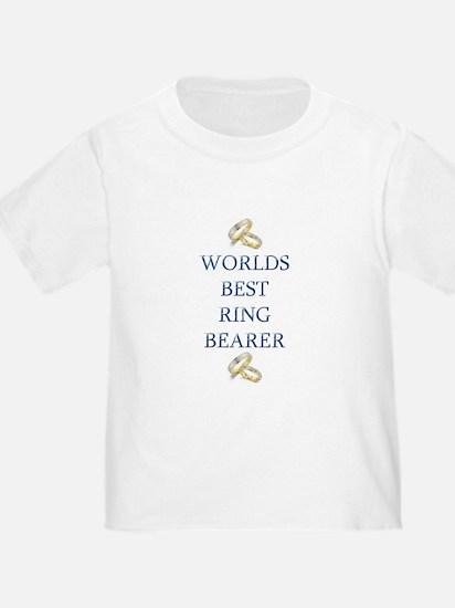 Worlds Best Ring Bearer- T